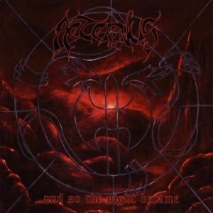 AETERNUS (Nor) – '…And so the night became' D-LP Gatefold (Red vinyl)
