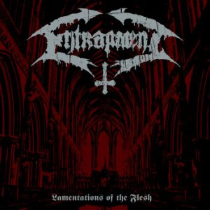 ENTRAPMENT (Hol) – 'Lamentations Of The Flesh' LP Gatefold (Red/Black swirl)