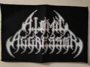 ATOMIC AGGRESSOR – logo PATCH