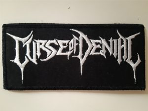 CURSE OF DENIAL - logo PATCH