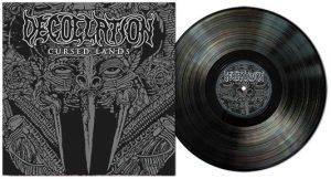 DECOLLATION (Swe) – 'Cursed Lands' LP Gatefold