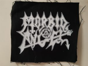 MORBID ANGEL – logo PATCH