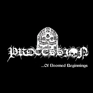 """PROCESSION – Of Doomed Beginnings 7""""EP (Clear vinyl)"""