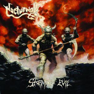 NOCTURNAL (Ger) – Storming Evil LP (Bone vinyl)