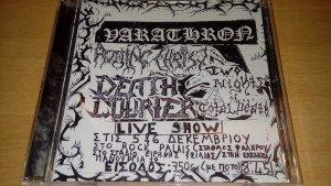 VARATHRON (Gr) – 'live at the swamp 1990' CD