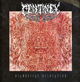 CENTINEX (Swe) – 'Diabolical Desolation' LP Gatefold