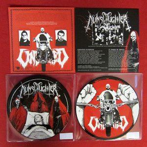 "NUNSLAUGHTER / UNBURIED (USA) – split Pic7""EP"