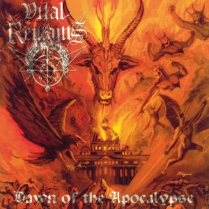 VITAL REMAINS (USA) – 'Dawn of the Apocalypse' LP