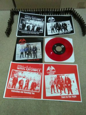 "CONVENT GUILT / WITCHTOWER Aus/Spa) - Split 7""EP (RED VINYL)"