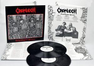 CROMLECH (Swe) – 'Eschatological Horrors' D-LP Gatefold