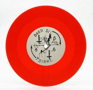 "PROFANATICA (USA) – 'Weeping in Heaven' 7""EP (Red vinyl)"