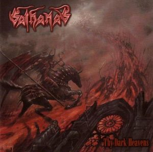 SATHANAS (USA) – 'Thy Dark Heavens' LP (Red vinyl)