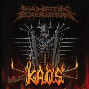 SADISTIK EXEKUTION (Aus) – 'K.A.O.S.' LP Gatefold