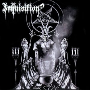 INQUISITION – 'Invoking the Majestic Throne of Satan' CD