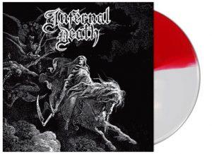 INFERNAL DEATH (DK) 'Demo # 1 / A Mirror Blackened' D-LP Gatefold (Red/White 'Danish edition')