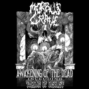 MORBUS GRAVE (It) - Awakening of the Dead + Throne of Disgust CD