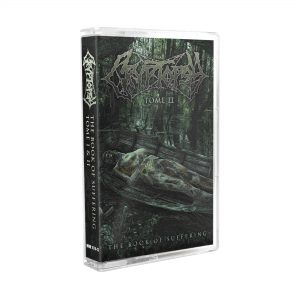 CRYPTOPSY (Can) – 'The Book of Suffering TOME I + II' TAPE
