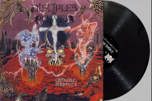 DISCIPLES OF POWER (Can) – 'Ominous Prophecy' LP