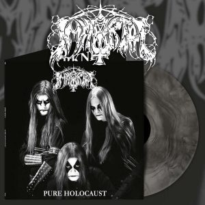 IMMORTAL (Nor) – 'Pure Holocaust' LP Gatefold (Silver marble vinyl)