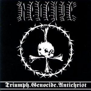 REVENGE (USA) – 'Triumph.Genocide.Antichrist' CD