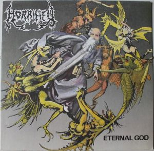 HORRIFIED (Gr) – 'Eternal God / Prophecy Of Gore' LP
