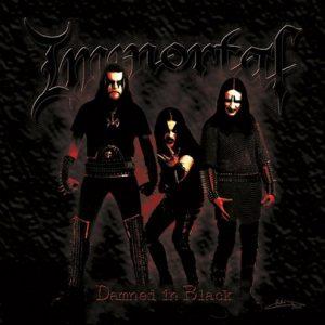 IMMORTAL (Nor) – 'Damned in Black' LP Gatefold