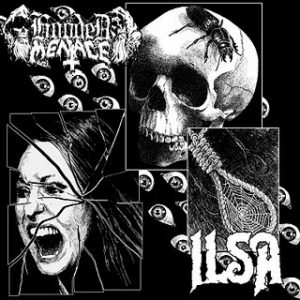 HOODED MENACE / ILSA – split MLP