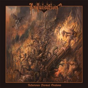 INQUISITION (Col) – 'Nefarious Dismal Orations' CD
