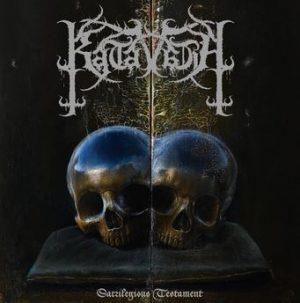 KATAVASIA (Gr) – 'Sacrilegious Testament' CD