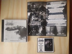 INFERNAL CONJURATION (Mex) – 'Tremendous Plague + bonus' CD