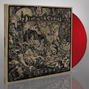 NOCTURNAL GRAVES (Aus) – 'Titan' LP Gatefold (Red vinyl)