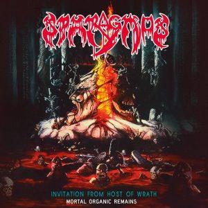 SPARAGMOS (Pol) – 'Invitation From Host Of Wrath' CD