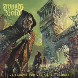 TEMPLE OF VOID (USA) – 'Of Terror and the Supernatural' CDDigipack
