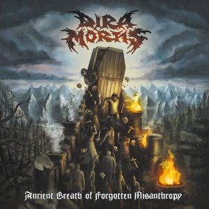 DIRA MORTIS (Pol) – 'Ancient Breath Of Forgotten Misanthropy' CD