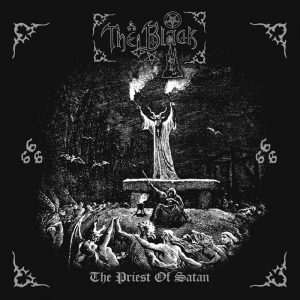 THE BLACK (Swe) – 'The Priest of Satan' CD