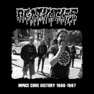 AGATHOCLES (Bel) – 'Mince Core History 1996-1997' CD