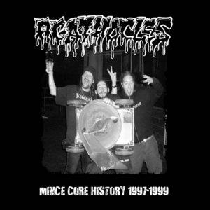 AGATHOCLES (Bel) – 'Mince Core History 1997-1999' CD