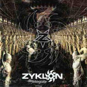ZYKLON (Nor) – 'Disintegrate' CD
