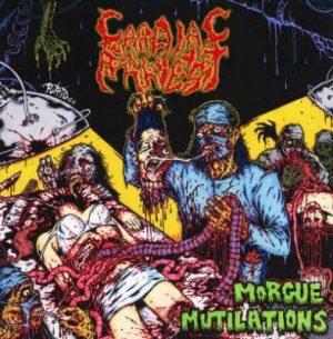 CARDIAC ARREST (USA) – 'Morgue Mutilations' CD Slipcase