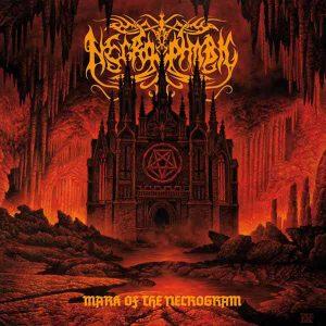 NECROPHOBIC (Swe) – 'Mark of the Necrogram' CD