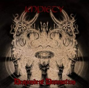 IMPIETY (USA) – 'Despondent Damnation' CD