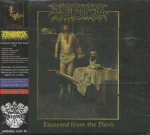 HYPERDONTIA (Dk) – 'Abhorrence Veil / Excreted From The Flesh' CD Slipcase