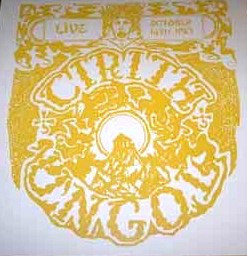 CIRITH UNGOL (USA) – 'Live October 14th 1983' LP (Yellow vinyl)