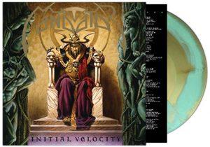 MANDATOR (NL) – 'Initial Velocity' LP(Green/gold marble vinyl)