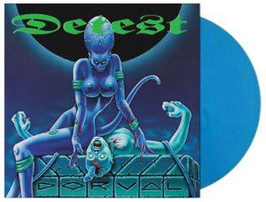 DETEST (Dk) – 'Dorval + bonus' D-LP Gatefold(Blue vinyl)