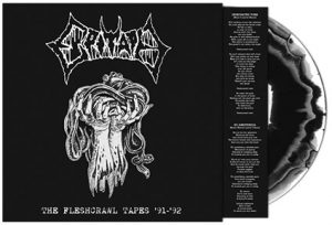 EPITAPH (Swe) – 'The Fleshcrawl Tapes '91-'92' LP (white-blackmarble vinyl)
