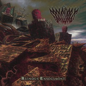 GRAVEWARDS (Gr) – Ruinous Ensoulment CD
