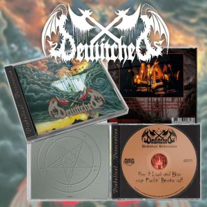BEWITCHED (Swe) – 'Diabolical Desecration' CD