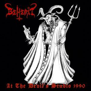 BEHERIT (Fin) – 'At the Devil's Studio 1990' LP