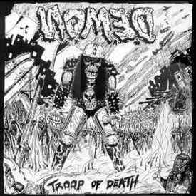 NOMED (Fra) – 'Troop of Death' MLP Gatefold